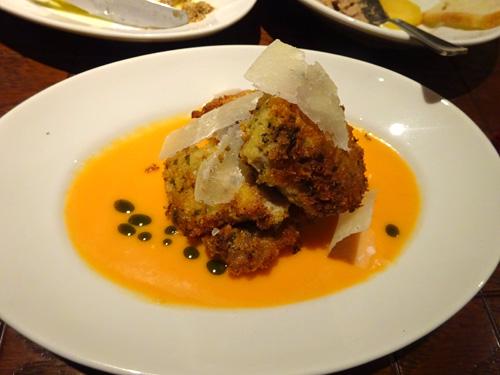29鮭白子の香草パン粉焼き