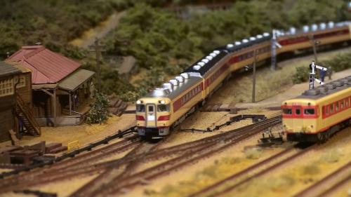 鉄道模型 キハ181系