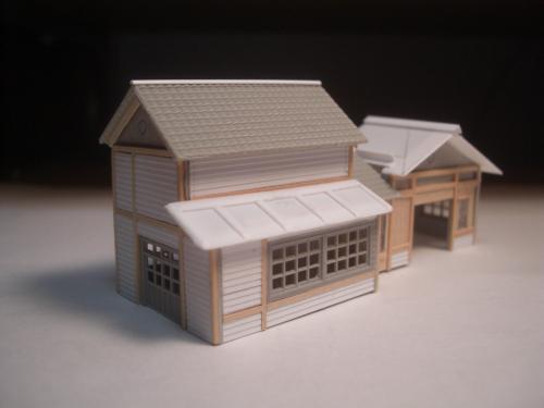 鉄道模型 ローカル駅舎 5