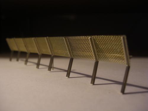 鉄道模型 ジオラマ 土砂防護柵 5