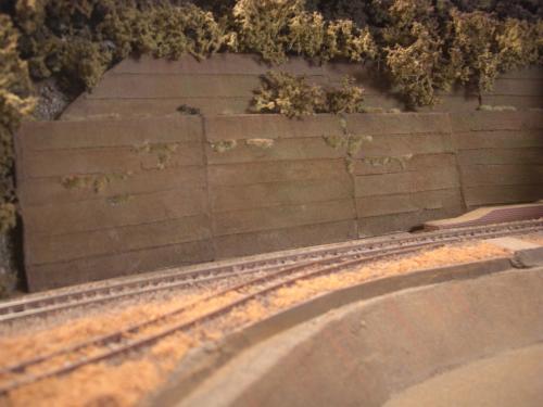 鉄道模型 ジオラマ 土砂防護柵 7