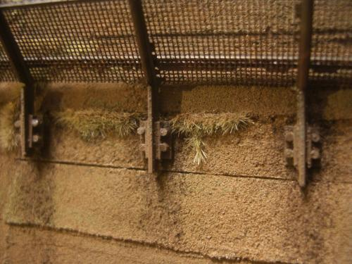 鉄道模型  土砂防護フェンス 2