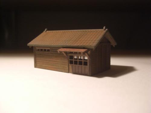 鉄道模型 鉄道員官舎 1