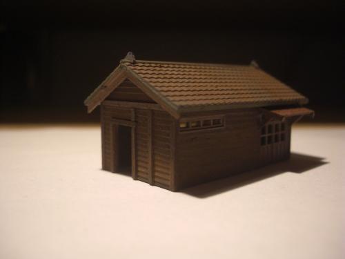 鉄道模型 鉄道員官舎 4