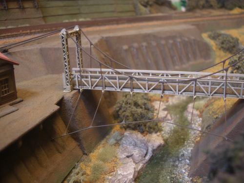 鉄道 吊り橋