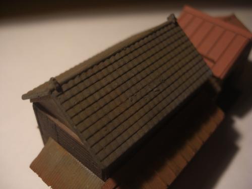 鉄道模型 ローカル駅舎 11