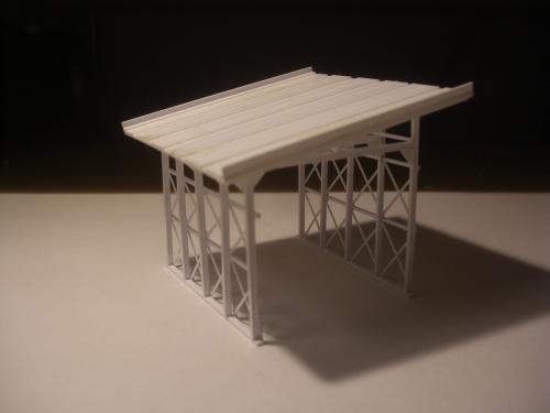 鉄道模型 スノーシェッド 2