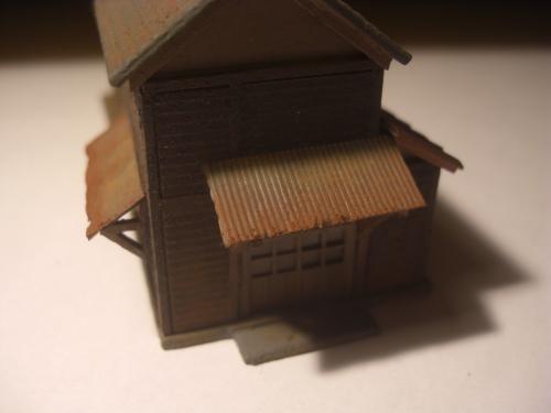鉄道模型 ローカル駅舎 10