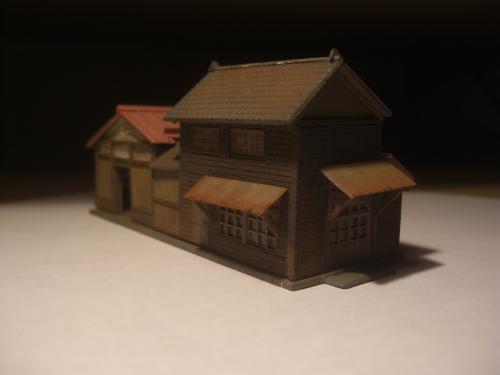 鉄道模型 ローカル駅舎 3