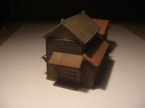 鉄道模型 ローカル駅舎 9