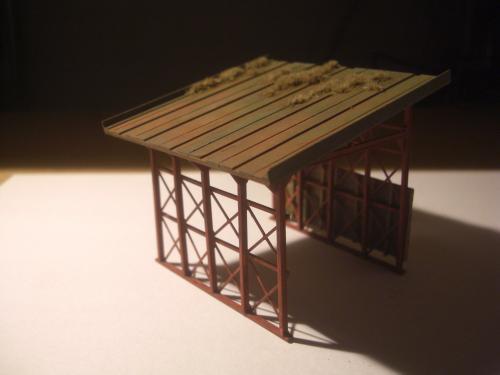 鉄道模型 スノーシェッド 9