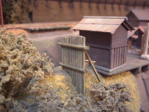 鉄道模型 モジュール 駅舎 5