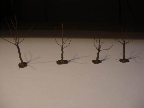 鉄道模型 樹木シナリー 2