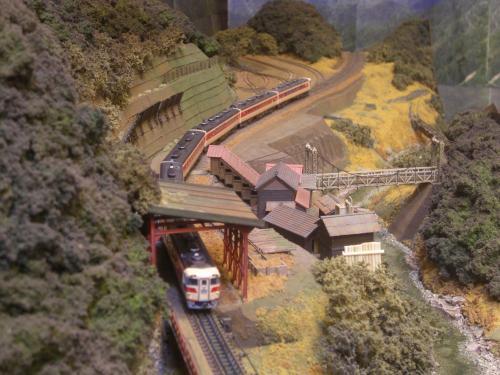 鉄道模型 モジュール 駅舎
