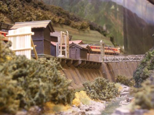 鉄道模型 モジュール 駅舎2