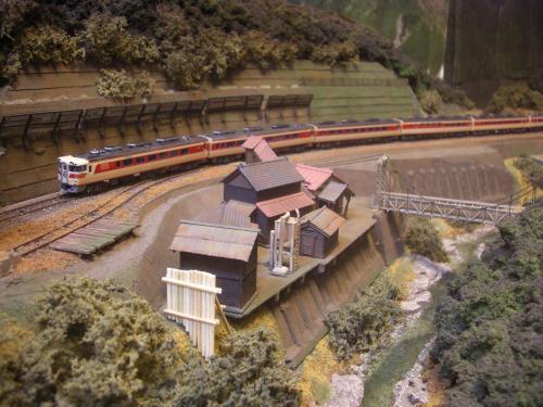 鉄道模型 モジュール 駅舎3