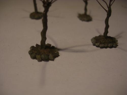 鉄道模型 樹木シナリー 6