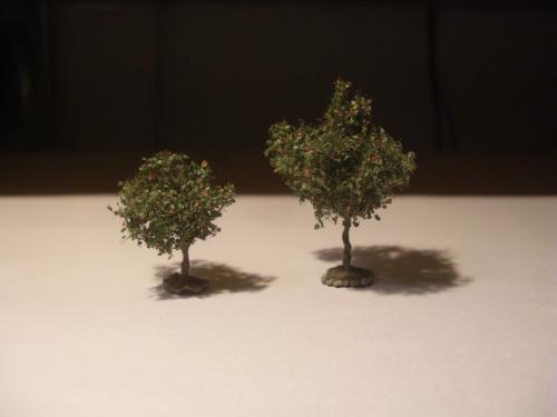 鉄道模型 樹木シナリー 7