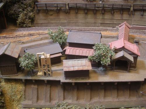 鉄道模型 駅舎 13