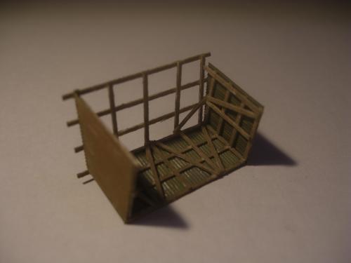 鉄道模型 トタン小屋 2