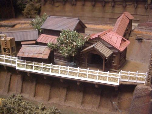 鉄道模型 ローカル駅舎 8