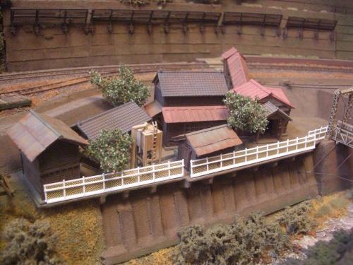 鉄道模型 ローカル駅舎 1