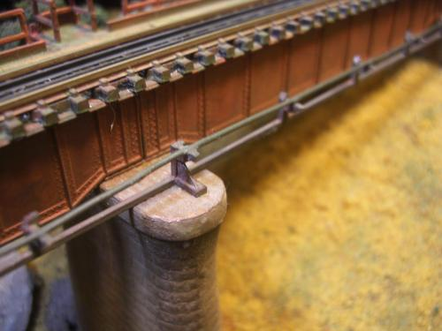 鉄道模型  鉄橋 ローカル線 5