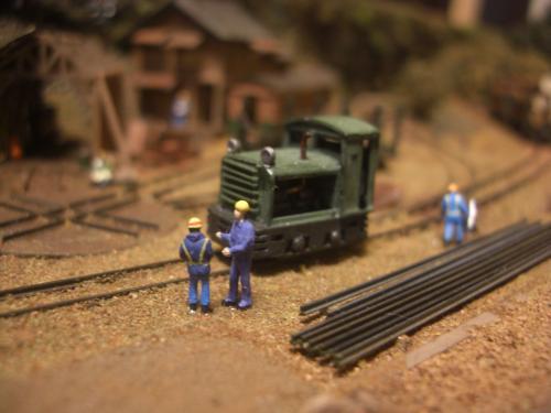 鉄道模型 森林鉄道