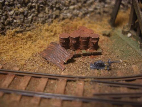 鉄道模型 ドラム缶