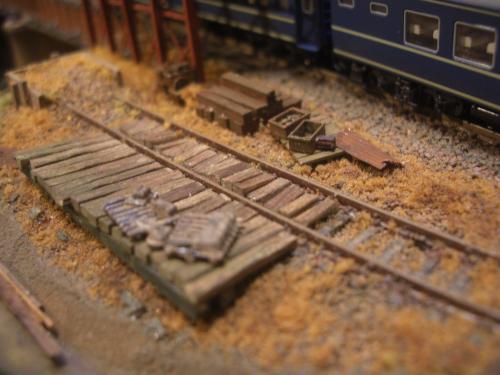 鉄道模型 駅舎 保線区
