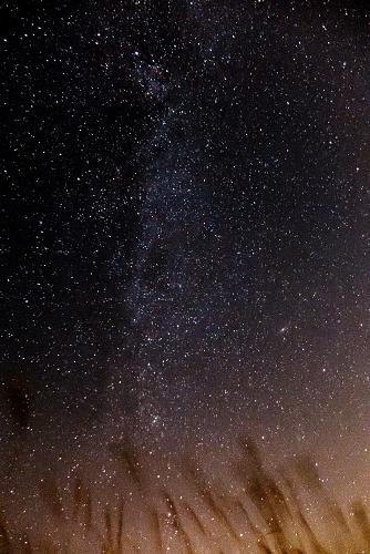 天の川 夜空