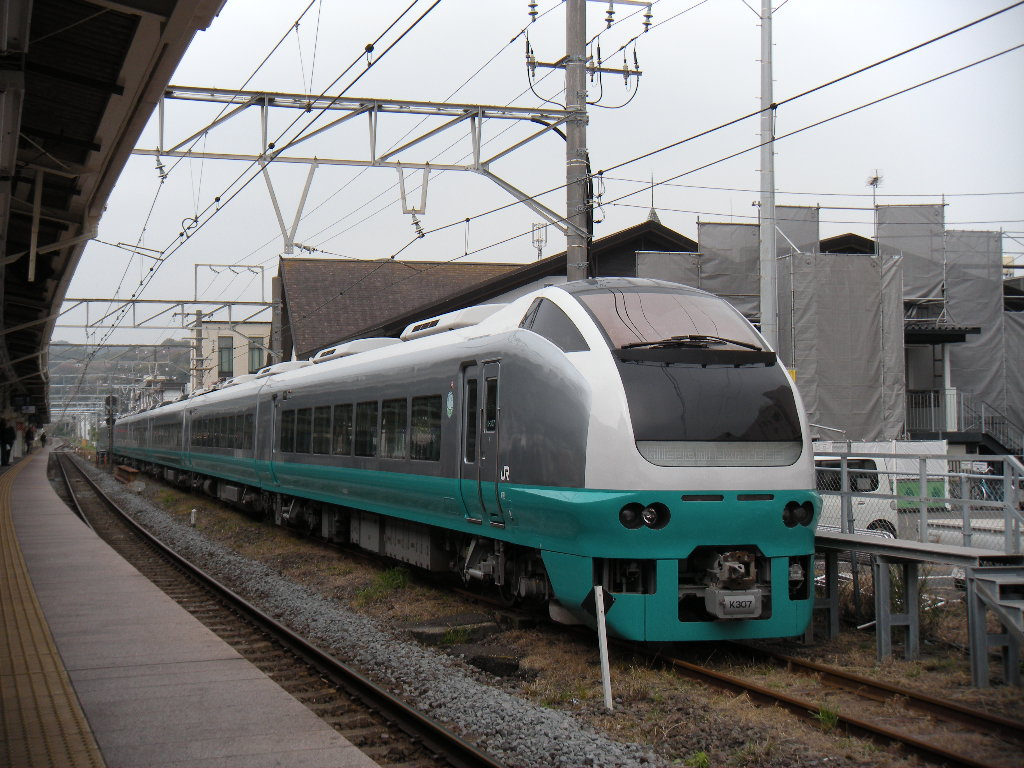 E653系K307(緑)鎌倉団臨 (3)