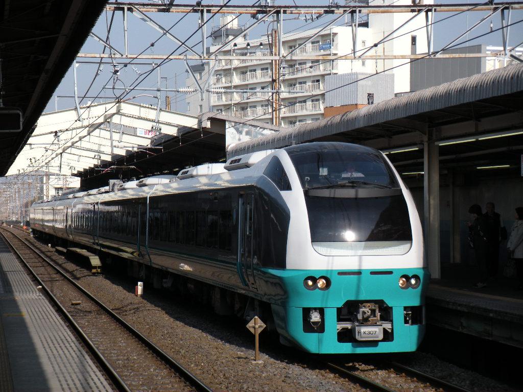 快速舞浜・東京号 E653系K307(緑) (2)