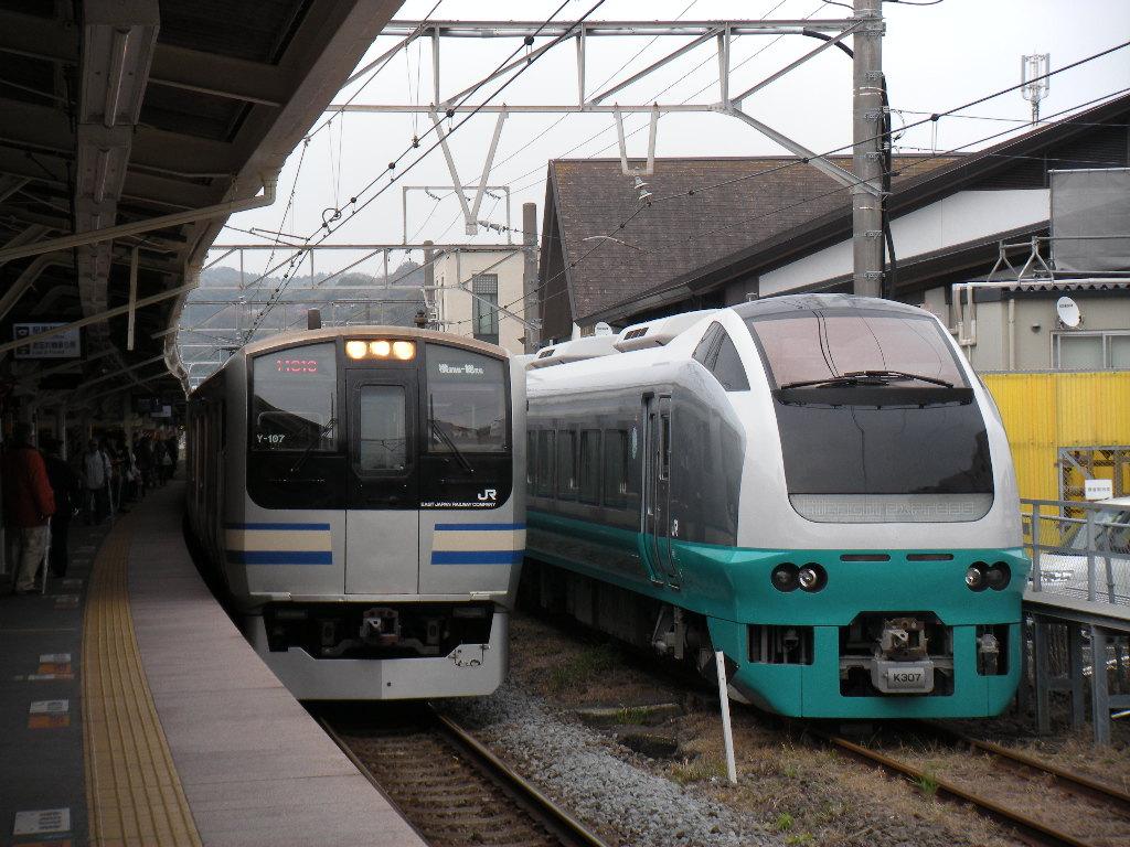 E653系K307(緑)鎌倉団臨 (4)
