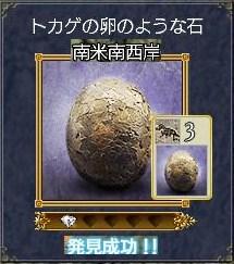 化石ートカゲの卵のような石