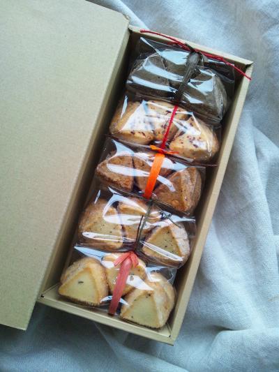 【焼き菓子 Aセット】クッキー5点入りです。
