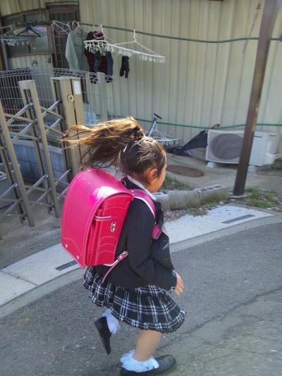入学式も終わり、幼稚園にご挨拶に行くぞぉーーっ!!