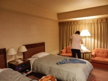 10/19 やっとホテルについた   浜松グランドホテル