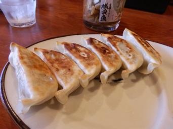 10/27 昼食 肉餃子   横濱家