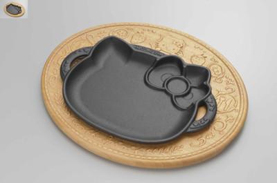キティちゃん ステーキ皿 1 - コピー