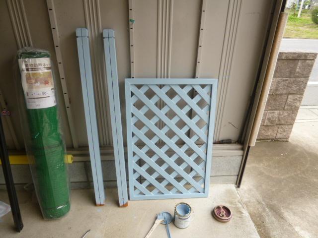 フェンス塗装 010