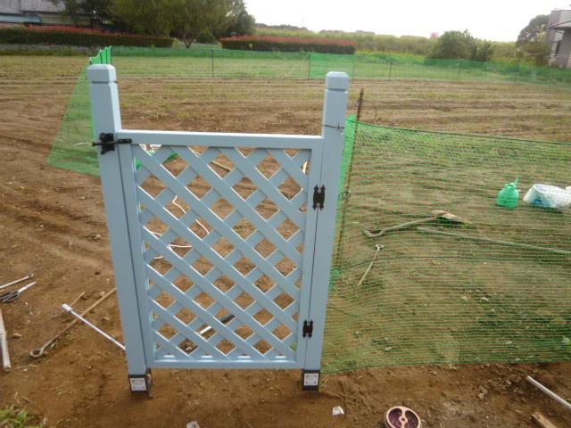 フェンス塗装 046