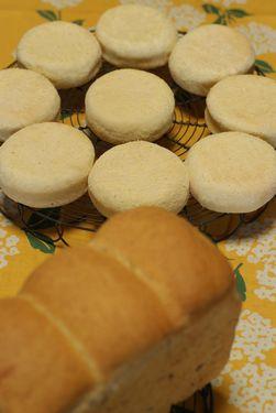 全粒粉の食パン&イングリッシュマフィン
