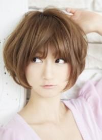 2013年 秋の最新トレンドヘアスタイル ショートヘア