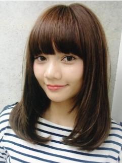 2013年 秋 面長さんの似合わせヘアスタイル