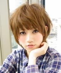 2013年 秋 人気の小顔ショートヘアスタイル