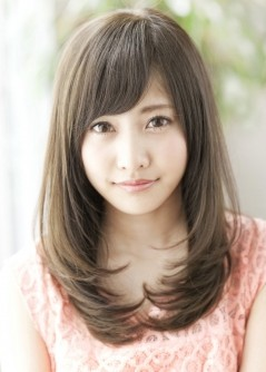 2013年 秋 丸顔さんの似合わせヘアスタイル