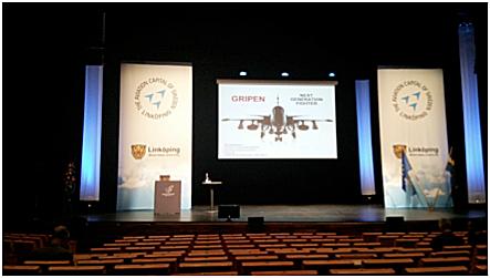 欧州連合航空宇宙会議(CEAS:スウェーデン王国)参加報告書(1)