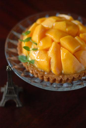 黄桃タルト