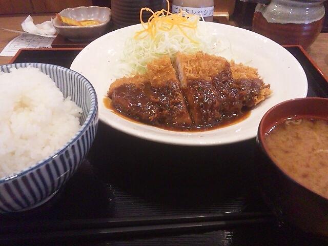 味噌かつ定食